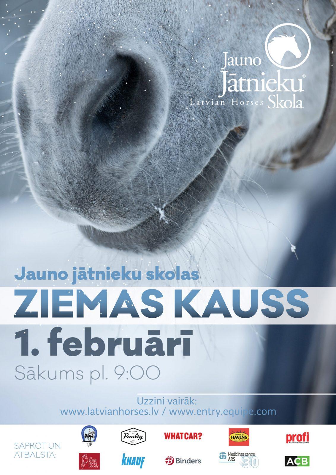 ZIEMAS KAUSS - JAUNO JATNIEKU SKOLA
